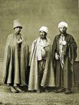 Derwisch des Mevlevi-Tariqa und Bektaschi-Tariqa Sufi Orden. Ein Mullah.