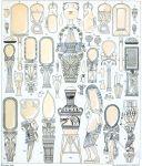 Ägypten. Häusliche Geräte. Parfüm,- Salbenbehälter, Amphoren.