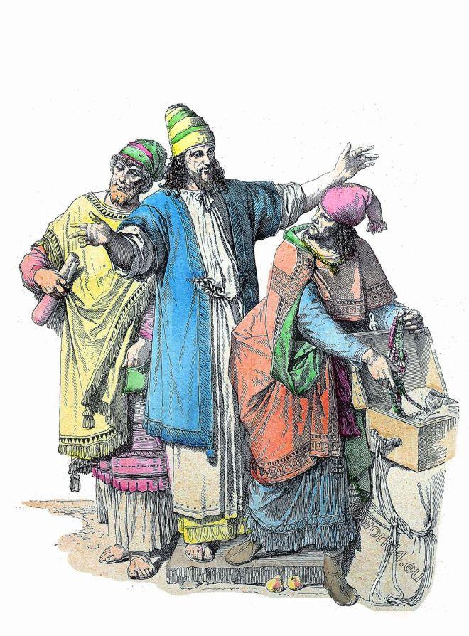 Münchener Bilderbogen, Juden, Kleidung, Hebräer, Levante, hebräisch, Antike