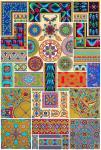 Byzantinische Kunst. Wandmalerei, Gemälde, Mosaiken.