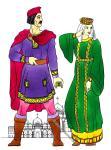 Byzanz. Kleidung des byzantinischen Bürgertums. 400 - 1100 n. Chr.