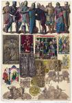 Deutsche vom 10. bis 13. Jahrhundert. Miniaturen, Münzen, Siegel.