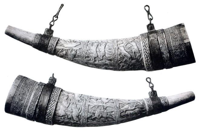 Hifthorn, Mittelalter, Byzantinisch, Jagdszenen,