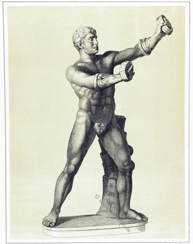 Cestus, Kämpfer, Boxhandschuh, Boxen, Kampfsport, Antike, Pankration