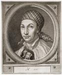 """Johann Georg Hamann. Deutscher Philosoph. Der """"Magus des Nordens""""."""