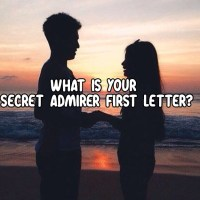 What Is Your Secret Admirer First Letter?
