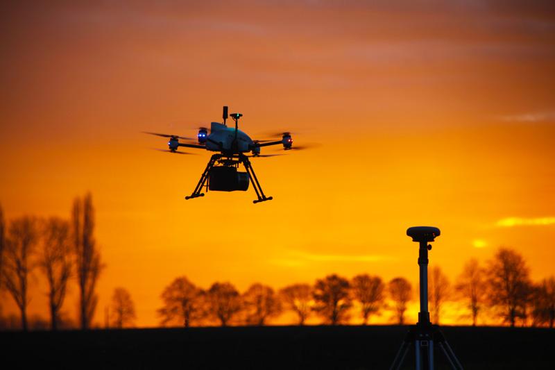 LiDAR embarqué sur le drone Xena