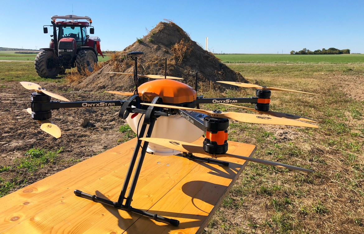 Agriculture drone FOX C8 HL - FOX