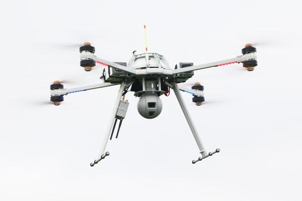 FOX-C8-TX-Observer Drone d'observation et de surveillance avec vision nocturne en mode furtif / discret