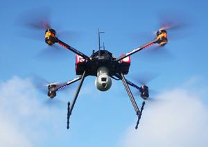 FOX C8 XT hd camera 30x infrared thermal camera uav drone rpas - La surveillance par drone grâce à deux caméras: HD et thermique avec zoom
