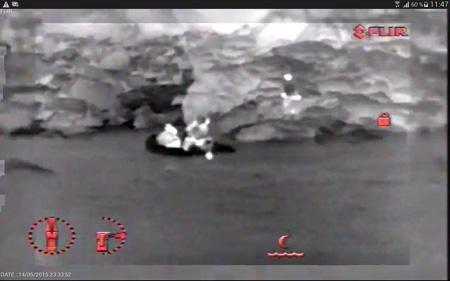 SAR search and rescue drone image thermique - Les drones en appui aérien pour le sauvetage en mer