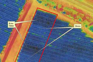 Agriculture assistée par drone culture récolte selective