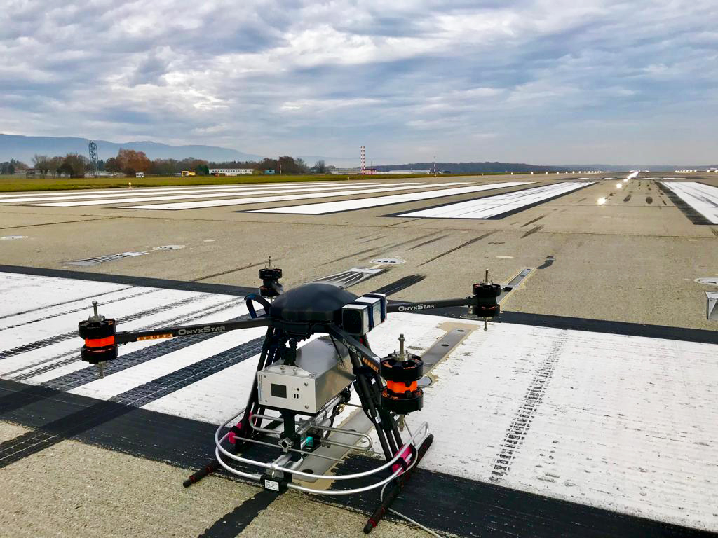 altigator atlas cns drone skyguide maintenance calibration ILS - Contrôle et maintenance des systèmes d'atterrissage automatique (ILS) par drone