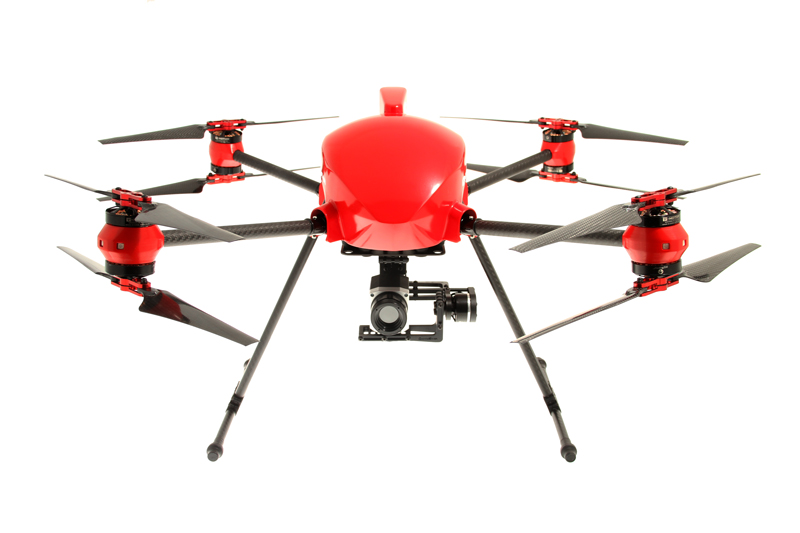 altigator drone onyxstar xena thermo thermography optris pi 640 aerial inspection thermogram data collection acquisition - XENA Thermo