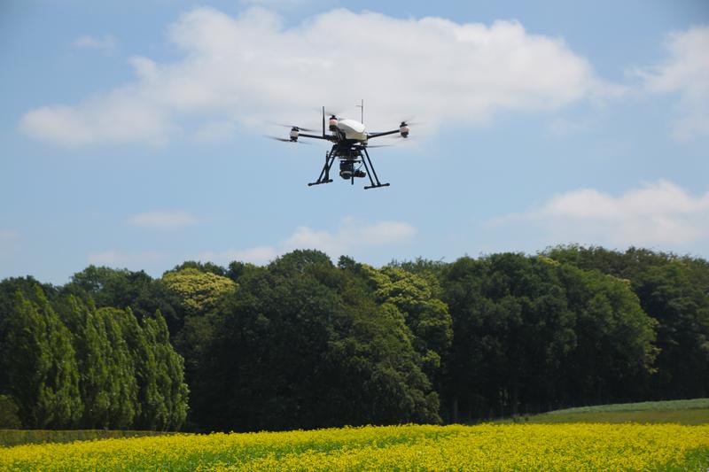 Agriculture de précision à l'aide d'un drone OnyxStar et d'une caméra thermique radiométrique