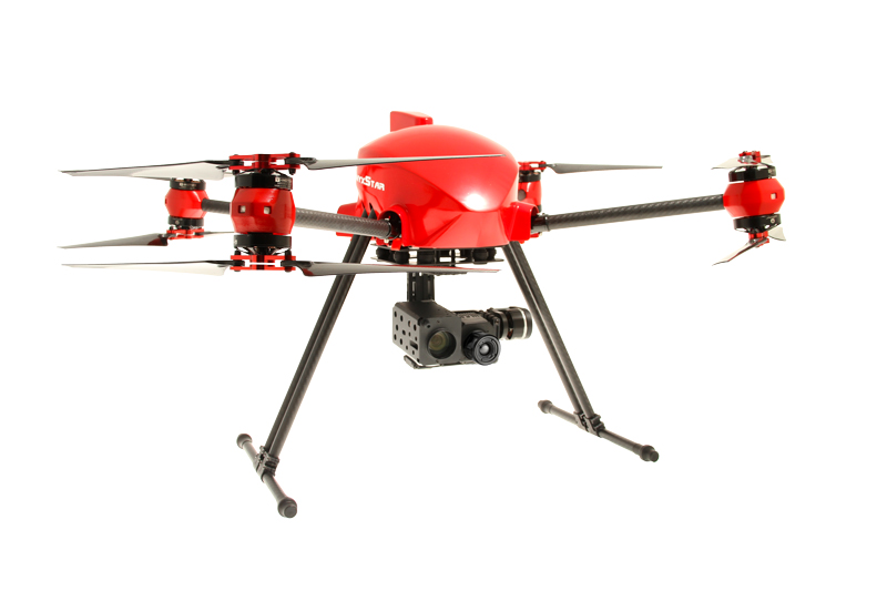 altigator drone uav onyxstar xena rescue sar search public safety aerial view infrared hd - XENA Rescue