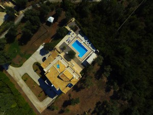 altigator drone uav real estate market buildings villa aerial view surroundings - XENA
