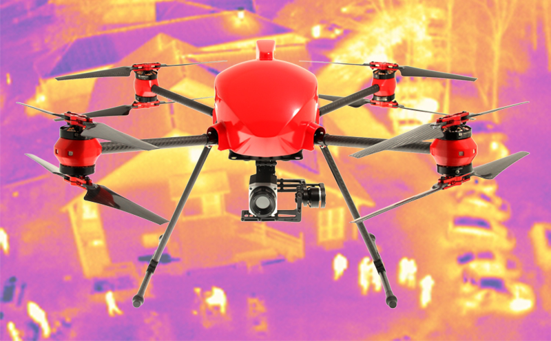altigator drone uav thermography xena aerial gaz leak thermogram inspection thermographic data radiometric aerial 2 - Complete solutions