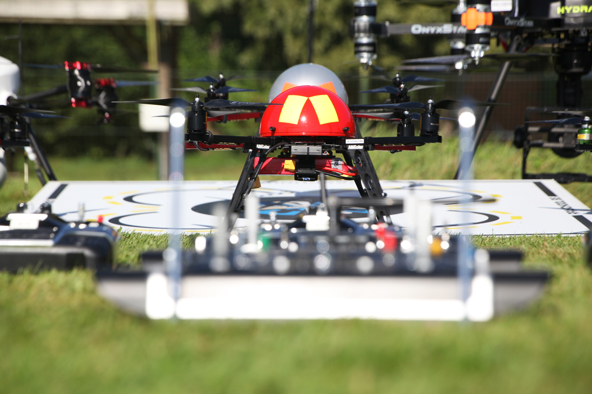 EOS - Drone for pilot training
