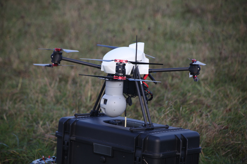 The Use Of Elistair SAFE T Together With A XENA Observer Aerial Surveillance UAV Was Made For This Test However Any AltiGator System Can Be Equipped To