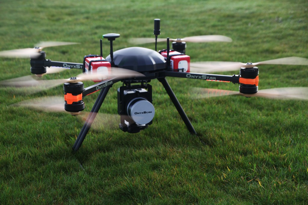 altigator onyxstar fox drone scanning laser aerial aerien sondage - FOX