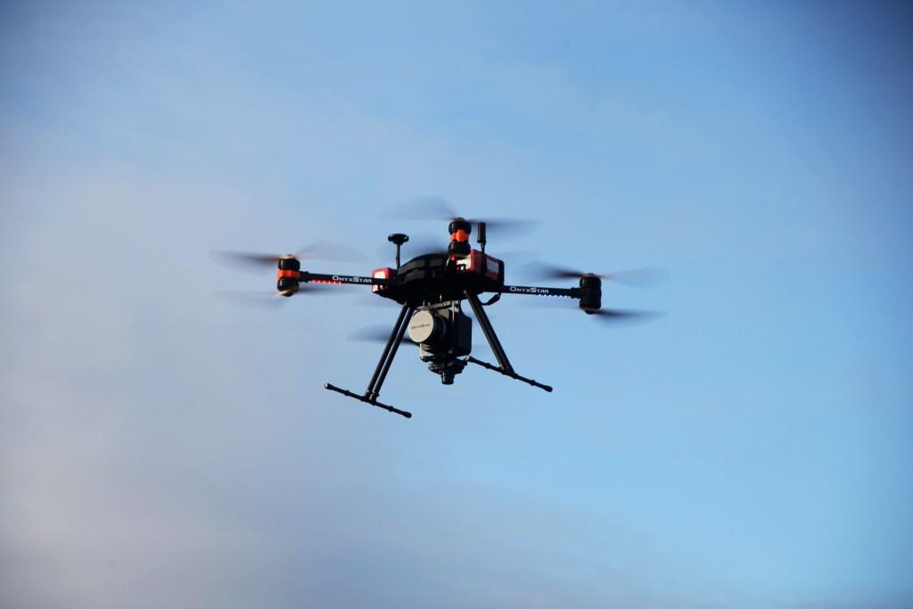 altigator onyxstar fox drone uav lidar geomatics topography - Technologie LIDAR OnyxScan embarquée sur drone