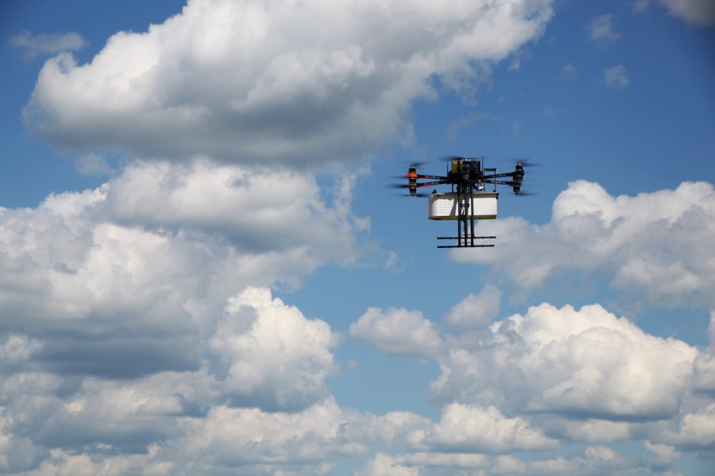 altigator onyxstar hydra drone custom hyperspectral camera heavy payload - HYDRA