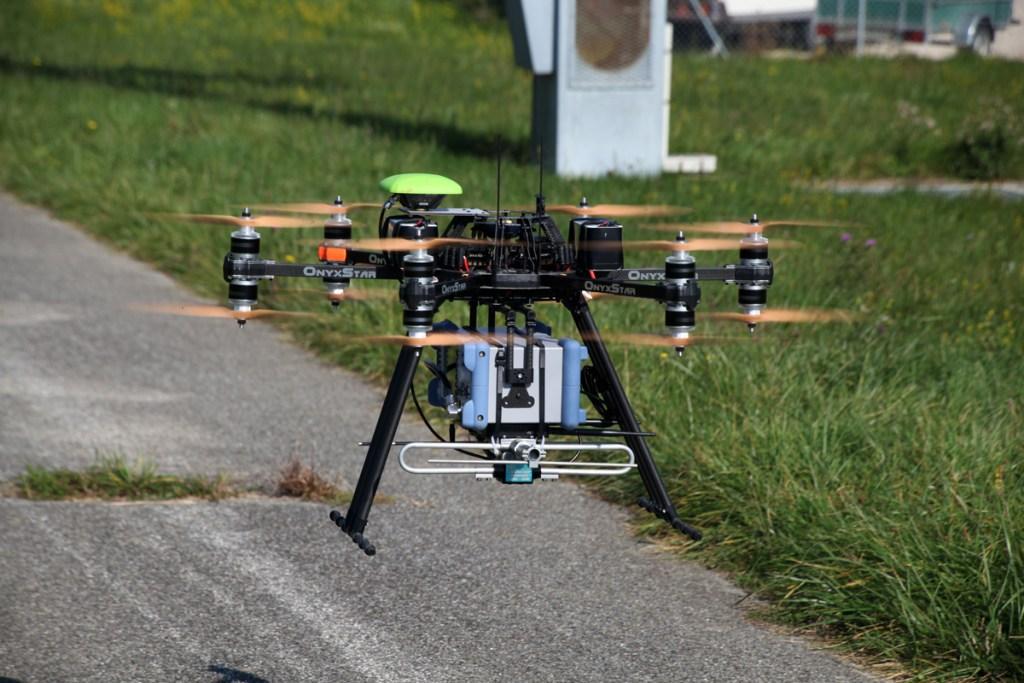 altigator onyxstar hydra drone custom sensor payload heavy - HYDRA