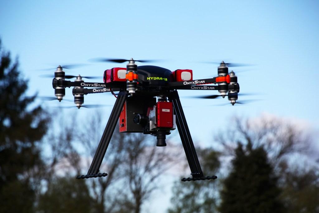 altigator onyxstar hydra drone uav uas heavy sensor lifting - HYDRA