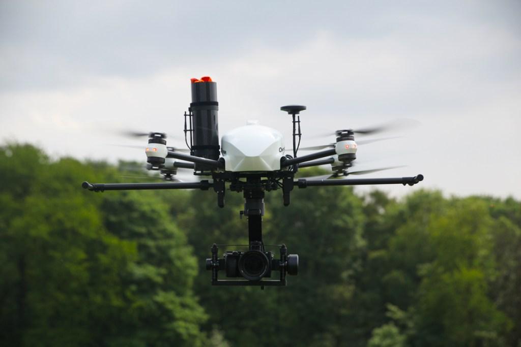 altigator onyxstar xena drone 360 degrees gimbal nacelle - XENA