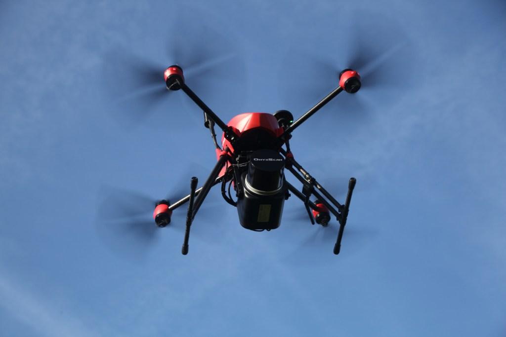 altigator onyxstar xena drone lidar aerial scanning aerien sondage - XENA