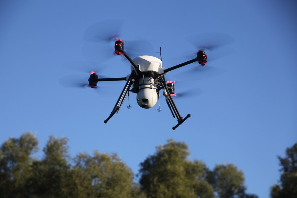 altigator onyxstar xena drone observer surveillance infrared zoom gimbal nacelle - XENA