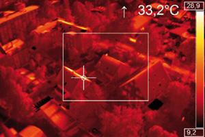 Bilan thermique aérien et performance énergétique des bâtiments par drone