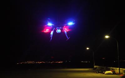 drone a vision nocturne pour les secours - Un drone pour secourir les migrants
