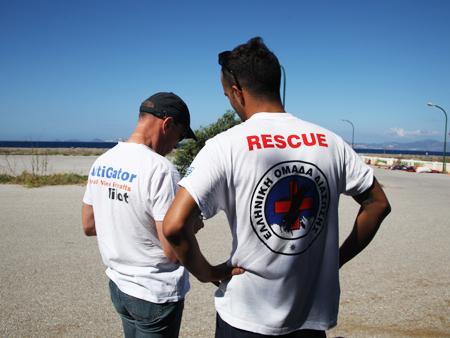 drone pre flight check before takeoff - A drone to rescue immigrants