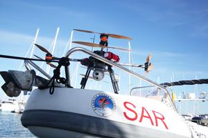 drone secours migrants - Un drone pour secourir les migrants