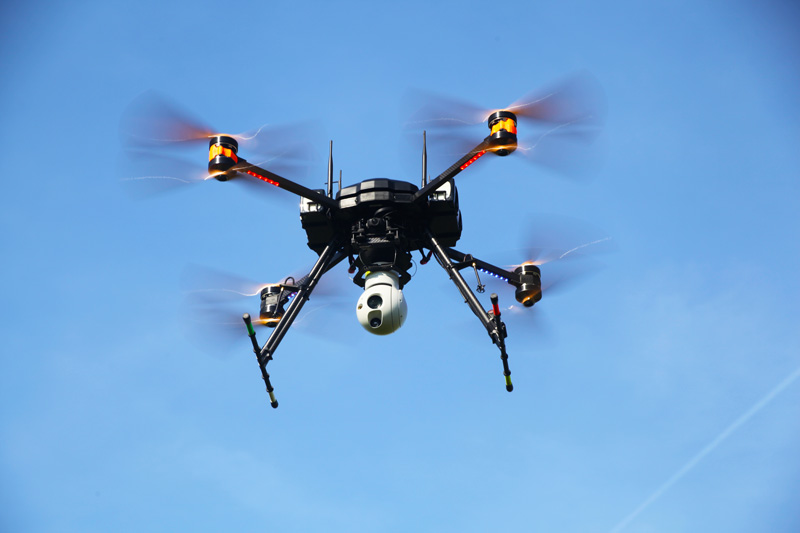 fox xt drone security surveillance uav 1 - drones