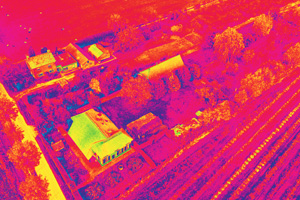 houses thermography 2 - La thermographie par drone