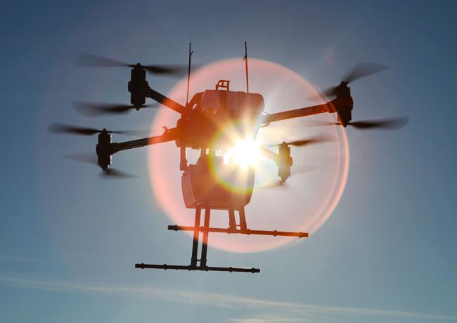 Technologie LIDAR embarquée sur drone OnyxStar Fox-C8 HD