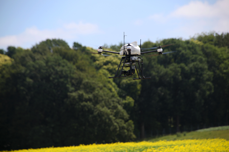 onyxstar drone uav thermography thermographic precision agriculture crop yield management - Drone thermography for agronomic research and crop control