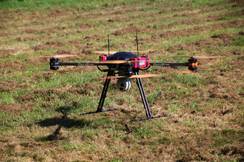 onyxstar fox c8 xt observer uav drone aerial monitoring surveillance - FOX-C8 XT Observer