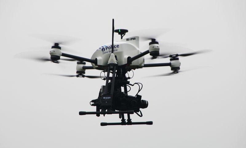Drone utilisé par la Police