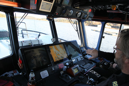 sea SAR boat with drone UAV - Drones to support sea rescue operations