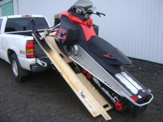 Snowmobile Ramp And Roll Kit A Do It Yourself Ramp Build Kit