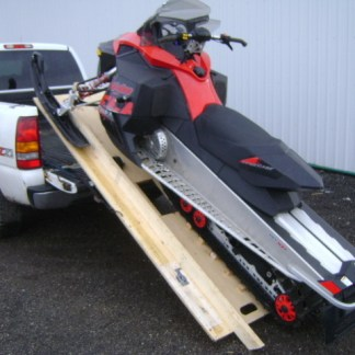 Snowmobile Ramp and Roll Kit