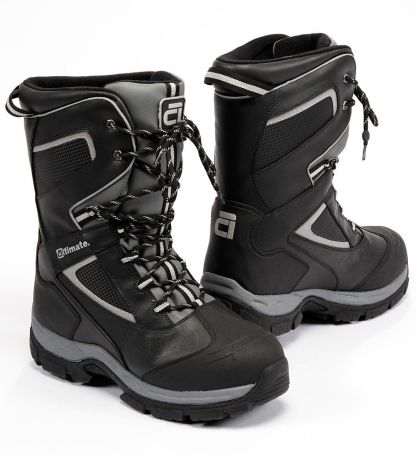 High traction tread and waterproof shell insulated with Thermolite for warmth and comfort