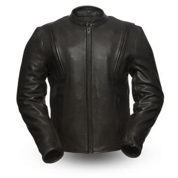 Mens Amoured Motorcycle leather Jacket