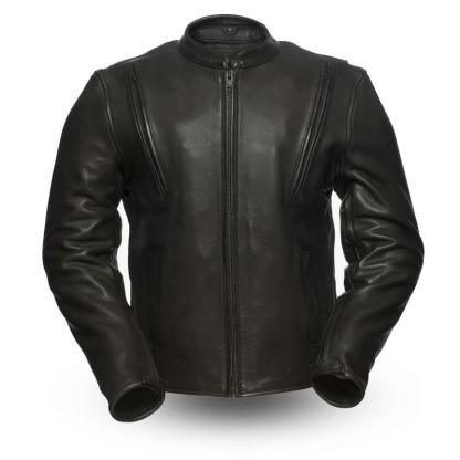 Armoured Leather Jacket