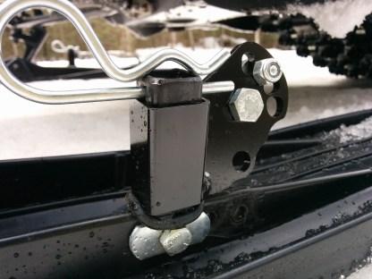 Multi mount ice scratcher bracket