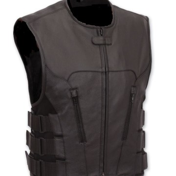 Top quality Leather Swat Vest